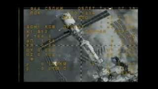 Камеры на борту МКС зафиксировали инопланетный корабль