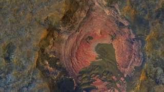Учёные нашли на Марсе уникальные породы