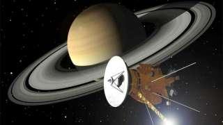 Зонд Cassini с Сатурна передал уникальную информацию о магнитных полях