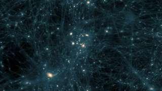 Моделирование межгалактической среды показало, что темная материя скорее «холодная», чем «нечеткая»