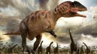 Палеонтологи впервые нашли следы динозавров в Северной Америке до вымирания