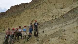 Томские палеонтологи обнаружили в Красноярском крае новое местонахождение динозавров и мамонтов