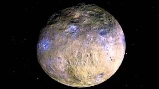 Уфологи обнаружили обломки НЛО на Церере
