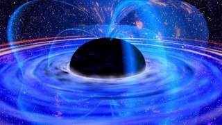 """Взрывы экзотических черных дыр могут порождать """"сигналы инопланетян"""""""