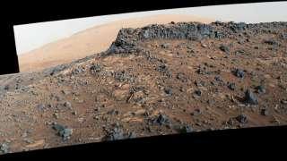 Ученые обнаружили аномально высокие концентрации цинка и германия в кратере Гейл