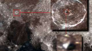 Охотник за НЛО обнаружил следы пришельцев на Луне