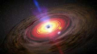 Чёрные дыры сделали Вселенную светлее