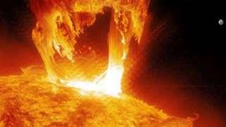 Вспышки на Солнце возникают из-за перепадов его активности