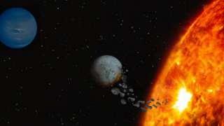 Ученые нашли «пожирающую» собственные планеты звезду
