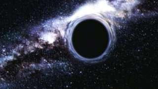 Потоки космического газа влияют на расширение черных дыр