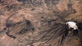 Сергей Рязанский продемонстрировал фотографии Арарата с высоты МКС