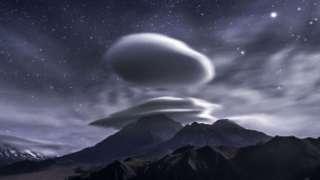 Житель Дальнего Востока запечатлел НЛО в виде облака