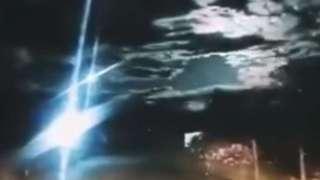 Над Китаем взорвался метеорит