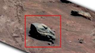 Уфологи обнаружили «голову дракона» на Марсе