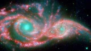 Ученые зафиксировали необъяснимое явление, вызванное слиянием двух галактик