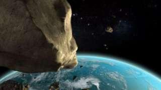 Учёные из Японии засняли полет астероида 2012 ТС4 на видео