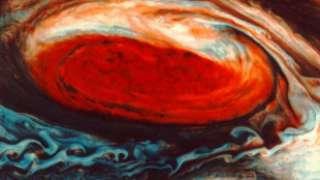Атмосферные штормы на Юпитере направлены внутрь планеты