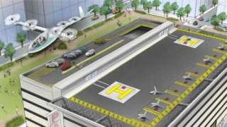 «Uber» и «НАСА» будут совместно работать над проектом летающего такси