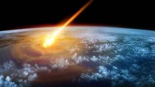 Камеры наблюдения в Финиксе засняли падение крупного метеорита
