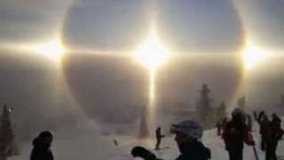 В Швеции сняли на видео четыре Солнца в небе