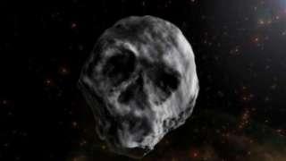 К Земле стремительно приближается астероид-череп