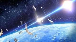 Уничтожение космического мусора лазером: Китай предложил свое решение проблемы