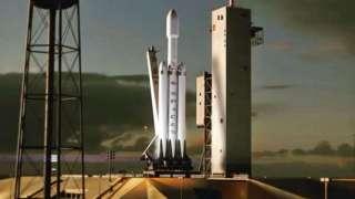 Названа точная дата запуска Falcon Heavy от SpaceX