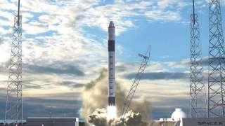 SpaceX осуществили успешный запуск Microsat 2a и 2b, но не поймали обтекатель ракеты