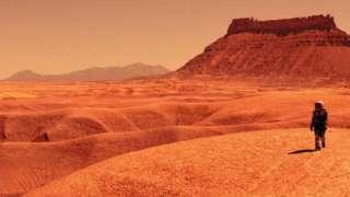 Эксперт: Астронавты погибнут на Марсе из-за вирусов и пришельцев