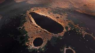 Огромное отверстие на Марсе взбудоражило учёных