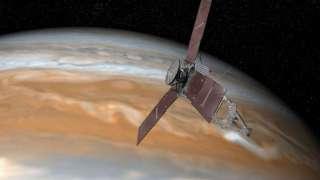 Аппарат NASA Juno в последний раз сблизится с Юпитером