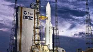 Ракета-носитель Ariane 5 успешно вывела на орбиту два спутника