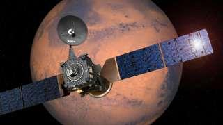 """Аппарат """"ЭкзоМарса"""" достиг нужной орбиты и вскоре приступит к изучению атмосферы Красной планеты"""