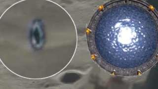 Конспирологи убеждены, что нашли на поверхности Луны портал в другие измерения