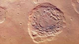 Загадочный кратер на Марсе может быть частью супервулкана