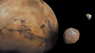 Спутники Марса появились в ходе космического столкновения