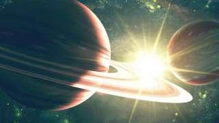 Сатурн мог сформировать спутники Юпитера