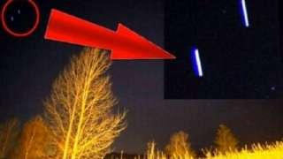 Норвежский фотограф заметил в небе загадочные объекты цилиндрической формы