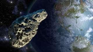 27 апреля жители Урала увидят пролетающий мимо Земли астероид