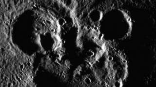 На Меркурии найдено скопление кратеров в виде Микки Мауса