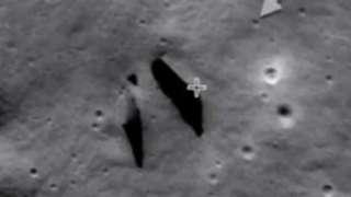 Уфологи заявили, что обнаружили на Луне вход в подземную базу пришельцев