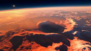 Учёные заявили, что на Марсе инопланетяне могут жить только под поверхностью