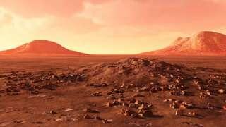На древнем Марсе могли идти дожди