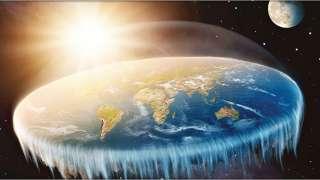 Сторонники теории плоской Земли объяснили, почему люди не падают, достигая края планеты