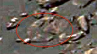 Исследователь Скотт Уоринг заметил загадочный лик на Марсе