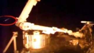 Неопознанный летающий объект появился рядом с МКС