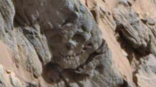 Уфолог обнаружил на Марсе череп великана