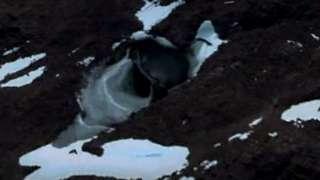 Уфологи считают, что подо льдом Антарктиды находится база инопланетян