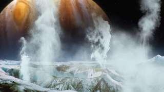 Ученые доказали существование водяных гейзеров на спутнике Юпитера