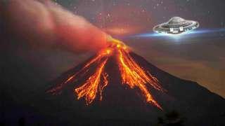 Уфолог с помощью Google Maps обнаружил огромный НЛО над гавайским вулканом Килауэа